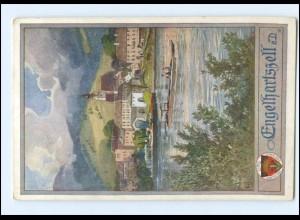 V1865/ Deutscher Schulverein AK Nr. 439 Engelhartszell a. D. O.-Ö. ca.1914