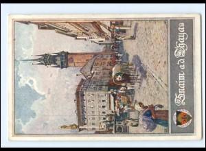 V1862/ Deutscher Schulverein AK Nr. 401 Znaim a.d. Thaya Tschechien ca.1914