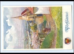 V1861/ Deutscher Schulverein AK Nr. 288 Pöchlarn N.-Ö. ca.1914