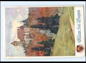 V1860/ Deutscher Schulverein AK Nr. 286 Klam bei Saren O.-Ö. ca.1914