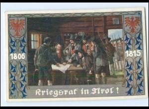 V1868/ Bund der Deutschen in Böhmen AK Nr.199 Kriegsrat in Tirol sign: Kutzer