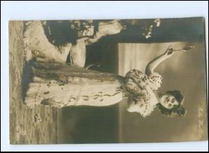 Y20012/ Schauspielerin Reta Walter Foto AK Golddruck 1907