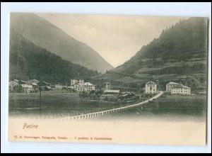 V1849/ Fucine Südtirol Italien AK ca.1900
