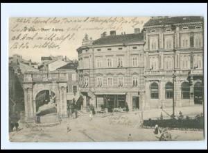 V1850/ Pola Pula Kroatien AK 1917