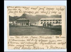 S2771/ ADEN Jemen AK 1905 + Deutsche Seepost