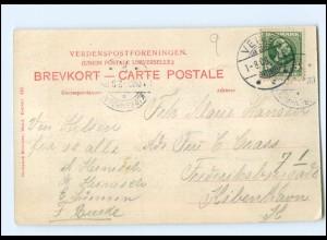 S2791/ Grejsdalen Udsigt fra Skraedderbakken AK Dänemark 1906