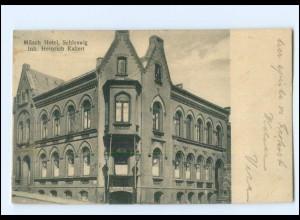 S2821/ Schleswig Müsch Hotel AK 1931