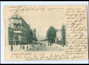 S2822/ Hamburg Eimsbüttel Lappenbergsallee AK 1901