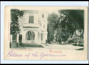 S2845/ Paramaribo Surinam Het Gouvernements-Hotel AK ca.1900 Niederl.-Indien
