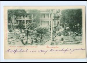 S2847/ Paramaribo Surinam Militair Hospitaal, Gravenstraat AK Niederl.-Indien