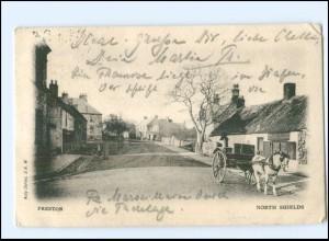 S2855/ Preston North Shields Großbritannien AK 1903