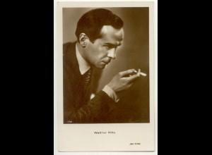 T1167/ Rauchen Schauspieler Walter Rilla mit Zigarette Foto AK Iris-Verlag