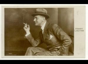 T1173/ Rauchen Schauspieler Harry Liedtke mit Zigarette Foto AK ca.1930