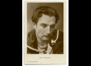 T1181/ Rauchen Schauspieler Iwan Mosjukin raucht Pfeife Ross Foto AK ca.1935
