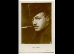 T1174/ Rauchen Schauspieler Willy Fritsch mit Zigarette Foto AK ca.1935