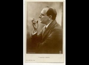 T1169/ Rauchen Schauspieler Friedrich Zelnik mit Zigarette Foto Ross AK ca.1930