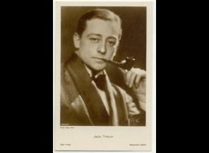 T1184/ Rauchen Schauspieler Jack Trevor raucht Pfeife Ross Foto AK ca.1935