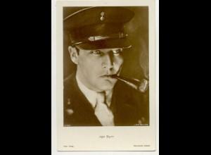 T1183/ Rauchen Schauspieler Jgo Sym raucht Pfeife Ross Foto AK ca.1935