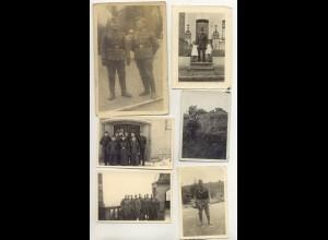 Y7578/ 33 Privatfotos 2 . Weltkrieg Soldaten Militär Foto