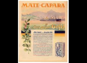 c755/ Mate-Capara - das grüne Gold Brasil Tee Werbung 1930