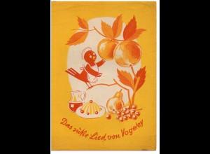 c753/ Adolf Vogeley Puddingpulver Werbung ca.1955
