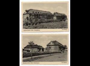 W8K24/ 2 x AK Heide Krankenhaus ca.1940