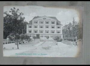 Neg4897/ Timmendorferstrand Hotel zur Kammer altes Negativ 40er Jahre
