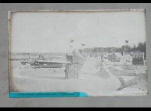 Neg4865/ Ostseebad Scharbeutz altes Negativ 40er Jahre
