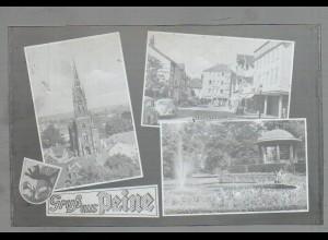 Neg4840/ Peine Landwirtschaftliche Schule altes Negativ 50er Jahre
