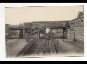 XX001414/ Paris La Gare de Bel-Air Bahnhof Ak ca.1910 Eisenbahn