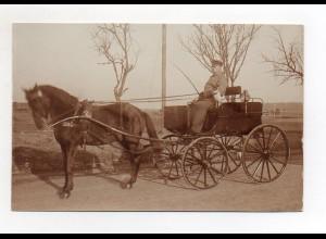 U3619/ Kutsche schöne Foto AK 1916