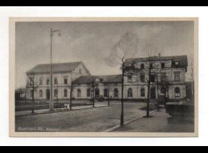 XX002009-093./ Rochlitz Bahnhof AK ca.1940