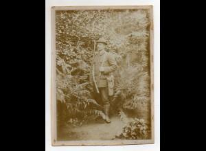 Y13683/ Jäger Jagd Foto 17,5 x 13 cm auf Pappe ca.1910