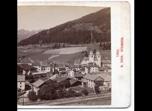 AK-0026/ Steinach Tirol Österreich Stereofoto ca.1885 Fotograf Alois Beer