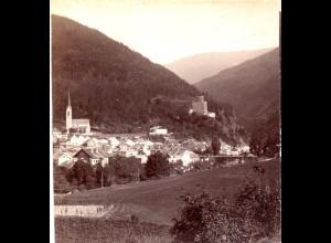 AK-0285/ Landeck von Nord Tirol Stereofoto v Alois Beer ~ 1895