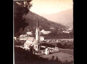 AK-0284/ Landeck von Ost Tirol Stereofoto v Alois Beer ~ 1895