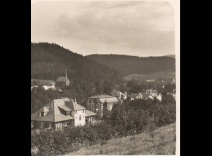 AK-0505/ Bad Reinerz Schlesien NPG Stereofoto ca.1905