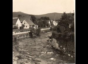 AK-0508/ Bad Landeck Bieletal Schlesien NPG Stereofoto ca.1905