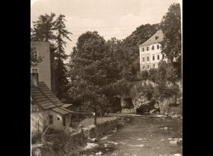 AK-0509/ Bad Landeck Bieletal Schlesien NPG Stereofoto ca.1905