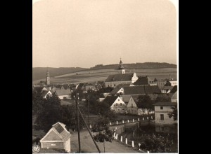 AK-0510/ Bad Landeck Schlesien NPG Stereofoto ca.1905