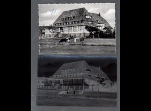 Y16235/ Norddorf auf Amrum Ambronenhaus AK + Negativ 50er Jahre