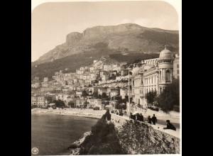AK-0690/ Monaco Monte Carlo NPG Stereofoto ca.1905