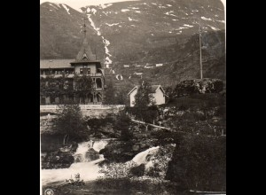 AK-0698/ Merok Hotel Union Norwegen NPG Stereofoto ca.1905