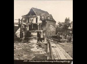 AK-01041/ Riesengebirge Hochwasser-Katastrophe Schlesien Stereofoto ca.1905