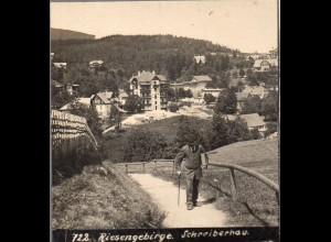 AK-01042/ Riesengebirge Schreiberhau Schlesien Stereofoto ca.1905