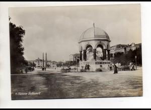 C3075/ Konstantinopel Fontaine Guillaume II Türkei Foto 18 x 12,5 cm