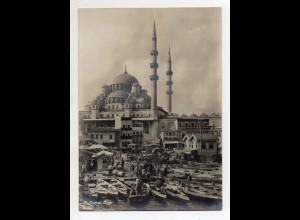 C3074/ Konstantinopel Moschee Valide Türkei Foto 18 x 12,5 cm