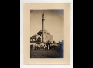 C3073/ Veles Mazedonien Moschee 1916 Foto 16,5 x 12,5 cm