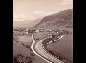 AK-01077/ Zell am See Tirol Stereofoto v Alois Beer ~ 1900