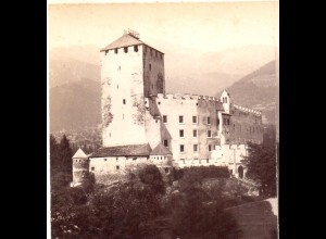 AK-01073/ Schloß Bruck Tirol Stereofoto v Alois Beer ~ 1900